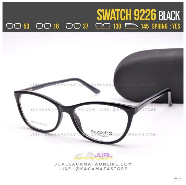 Trend Frame Kacamata Baca Swatch 9226 Black