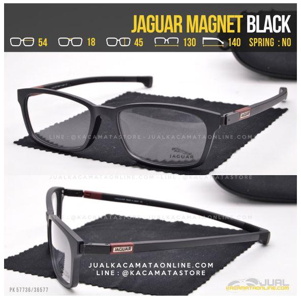 Trend Frame Kacamata Sporty Jaguar Magnet Black