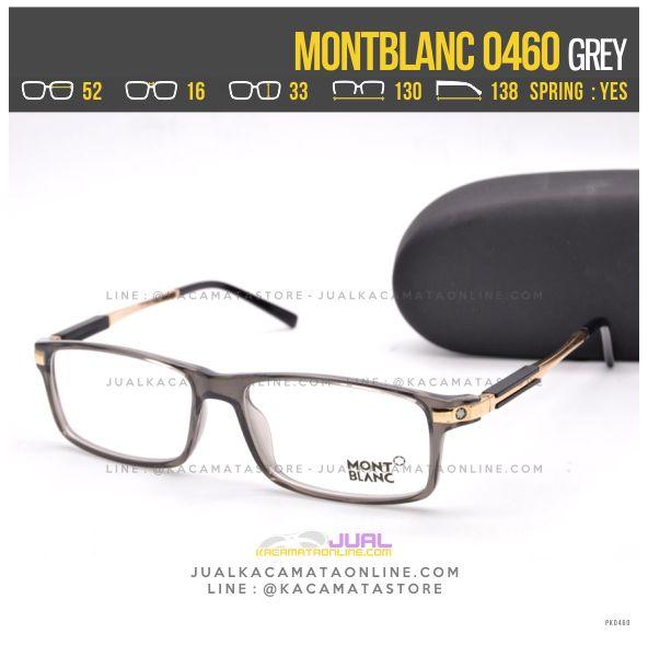 Model Frame Kacamata Terlaris 2017 MontBlanc 0460 Grey
