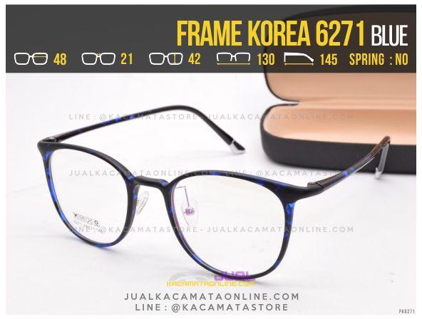 Harga Kacamata Korea Terbaru 6271 Blue