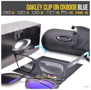 Model Kacamata Minus Double Lensa Oakley 8008 Blue