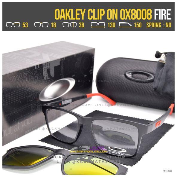 Jual Kacamata Minus Double Lensa Oakley 8008 Fire