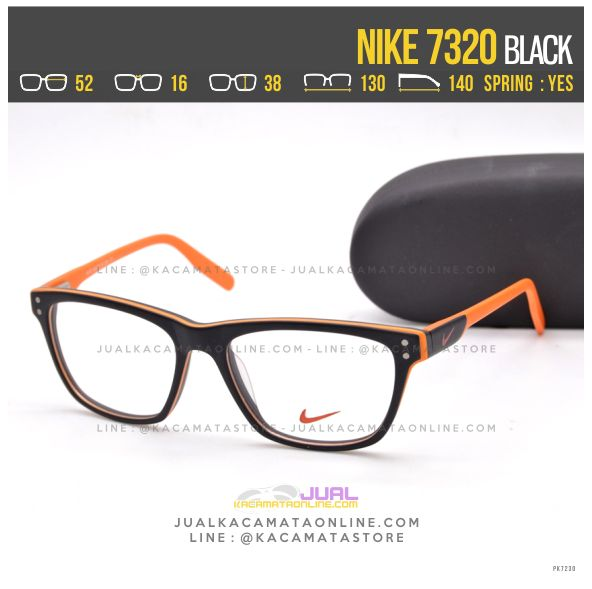 Model Kacamata Sporty Nike 7320 Black