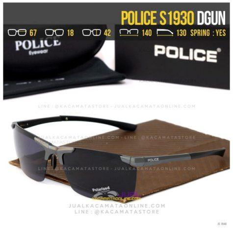 Trend Kacamata Sporty Police S1930 Dgun