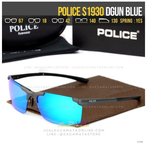 gambar Kacamata Sporty Police S1930 Dgun Blue