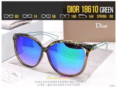 Moel Kacamata Terlaris 2017 Dior 18610 Green