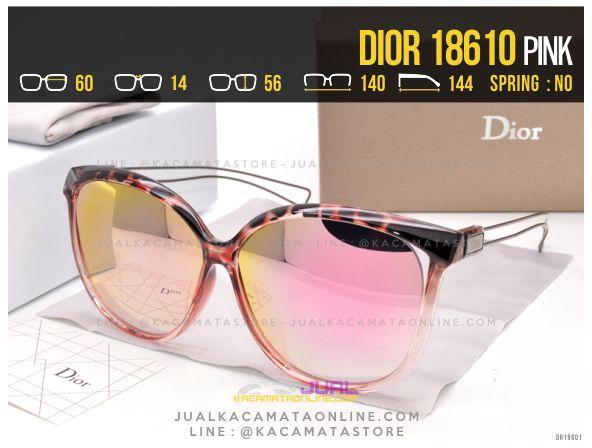 Jual Kacamata Terlaris 2017 Dior 18610 Pink