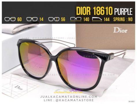Grosir Kacamata Terlaris 2017 Dior 18610 Purple