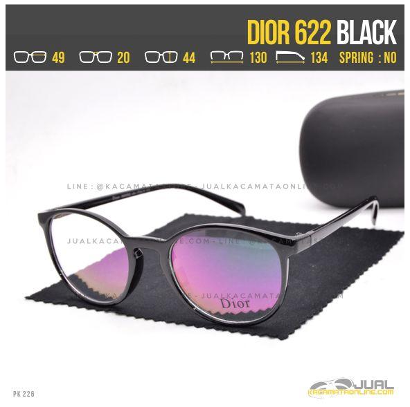 Trend Frame Kacamata Terbaru Dior 622 Black