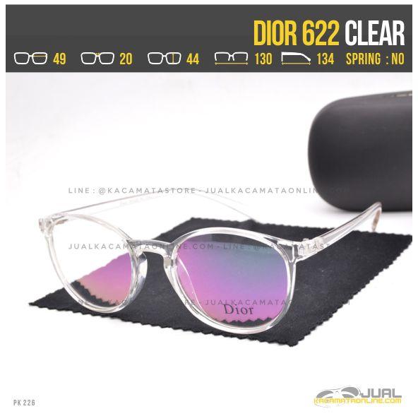 Jual Frame Kacamata Terbaru Dior 622 Clear