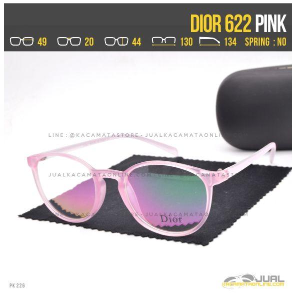 Model Frame Kacamata Terbaru Dior 622 Pink