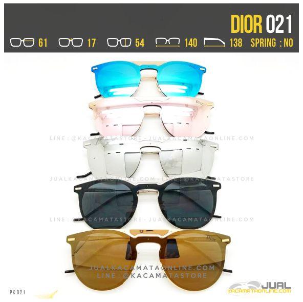 Model Kacamata Cewek Terbaru Dior 021 Fullset