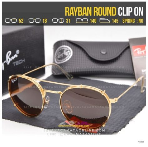 Model Kacamata ClipOn Terbaru Rayban RB8374