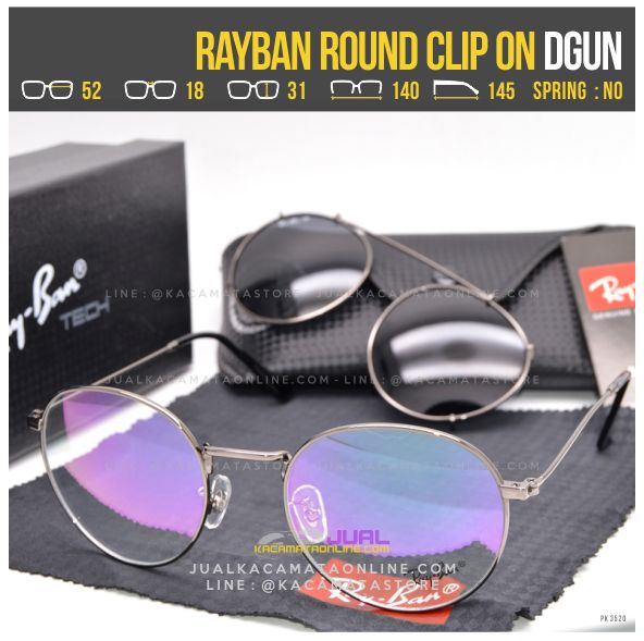 Trend Kacamata ClipOn Terbaru Rayban RB8374 Dgun