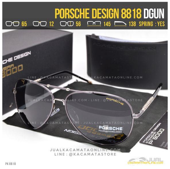 Harga Kacamata Cowok Terbaru Porsche Design 8818 Dgun