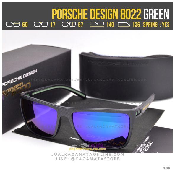 Jual Kacamata Gaya Terbaru Porsche Design 8022 Green