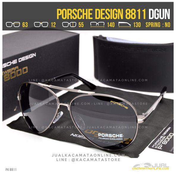 Grosir Kacamata Gaya Terbaru Porsche Design 8811 Dgun