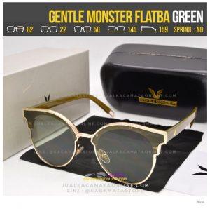 Jual Kacamata Korea Terlaris Gentle Monster Flatba Green