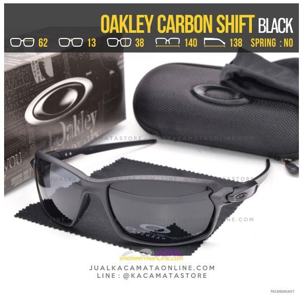 Grosir Kacamata Oakley Terbaru Carbon Shift Black