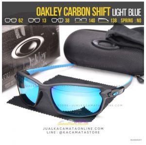 Gambar Kacamata Oakley Terbaru Carbon Shift Blue