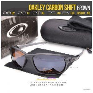 Trend Kacamata Oakley Terbaru Carbon Shift Brown