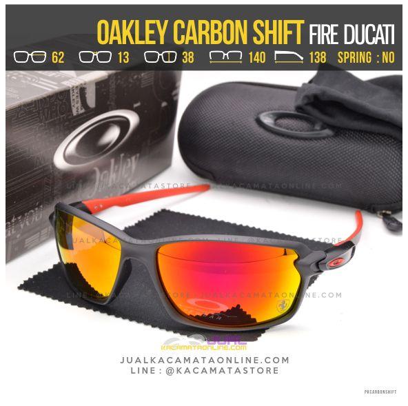 Jual Kacamata Oakley Terbaru Carbon Shift Ducati Fire