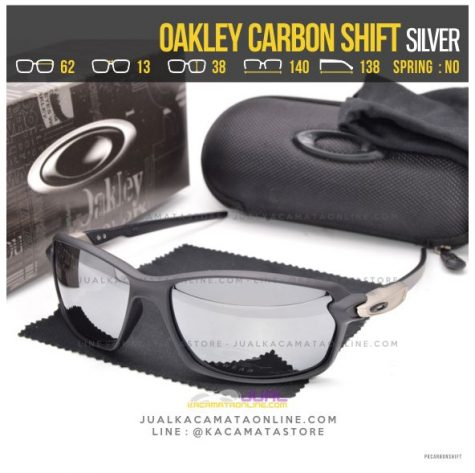 Model Kacamata Oakley Terbaru Carbon Shift Silver