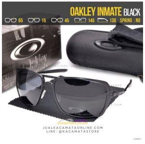 Model Kacamata Oakley Terlaris Inmate Black