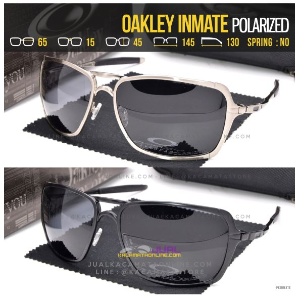Model Kacamata Oakley Terlaris Inmate Polarized