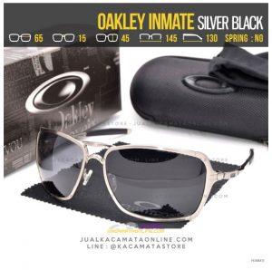 Jual Kacamata Oakley Terlaris Inmate Silver Black