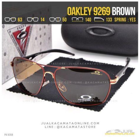 Model Kacamata Pria Terbaru Oakley 9269 Brown