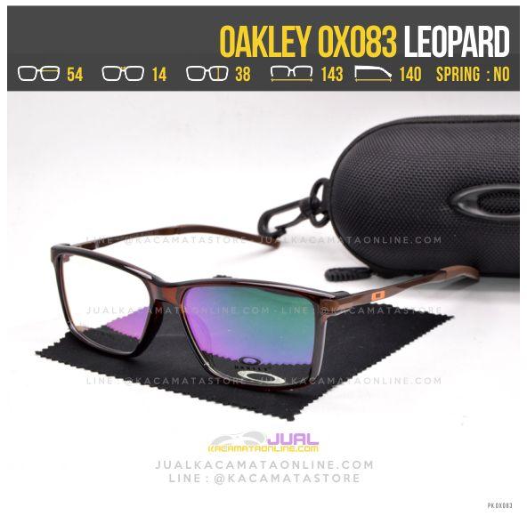 Jual Kacamata Pria Terbaru Oakley OX083 Brown