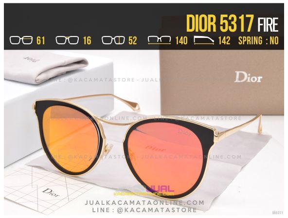 Gambar Kacamata Wanita Terbaru 2017 Dior 5317 Fire