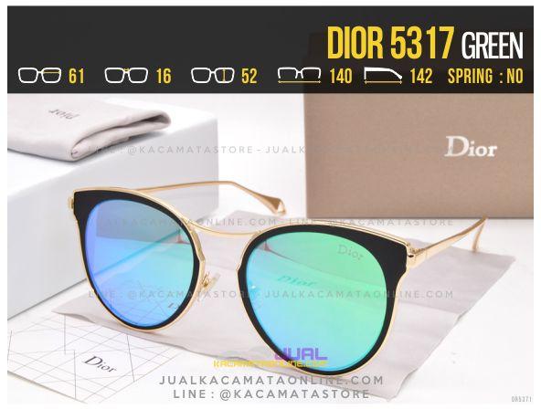 Jual Kacamata Wanita Terbaru 2017 Dior 5317 Green