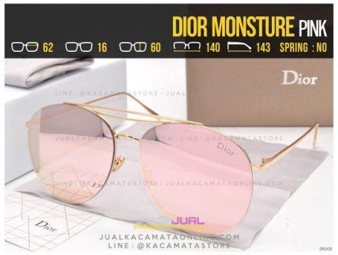 Model Kacamata Wanita Terbaru Dior Monsture Pink