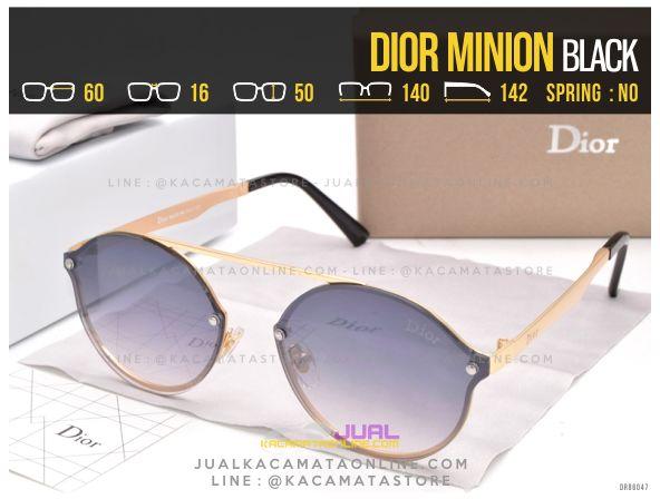 Trend Kacamata Murah Dior Minion Black