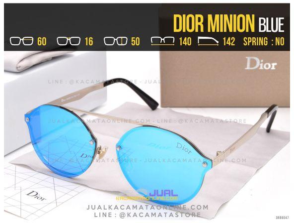 Grosir Kacamata Murah Dior Minion Blue