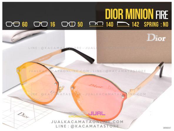 Pusat Kacamata Murah Dior Minion Fire