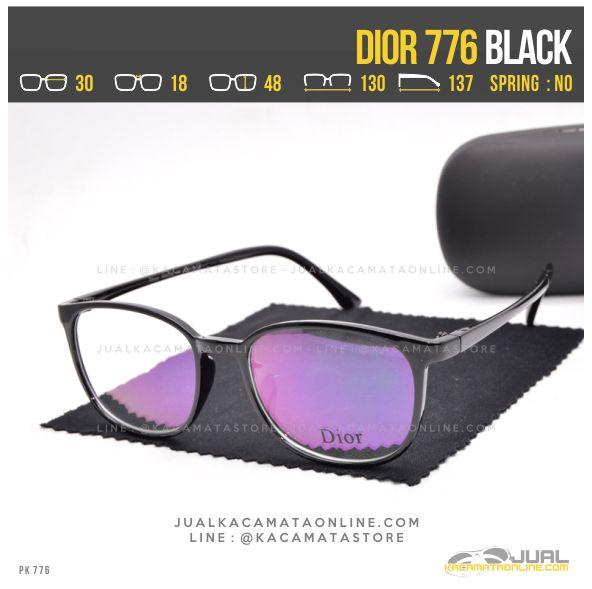 Model Frame Kacamata Terbaru Dior 776 Black