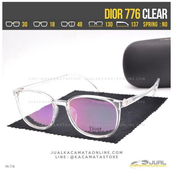 Jual Frame Kacamata Terbaru Dior 776 Clear