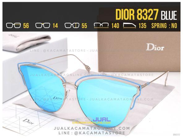 Model Kacamata Wanita Terbaru 2017 Dior 8327 Blue