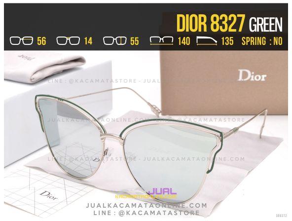 Jual Kacamata Wanita Terbaru 2017 Dior 8327 Green