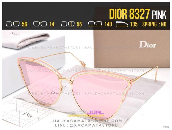 Trend Kacamata Wanita Terbaru 2017 Dior 8327 Pink
