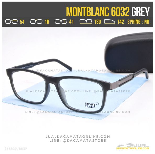 Gambar Frame Kacamata Optik MontBlanc 6032 Grey