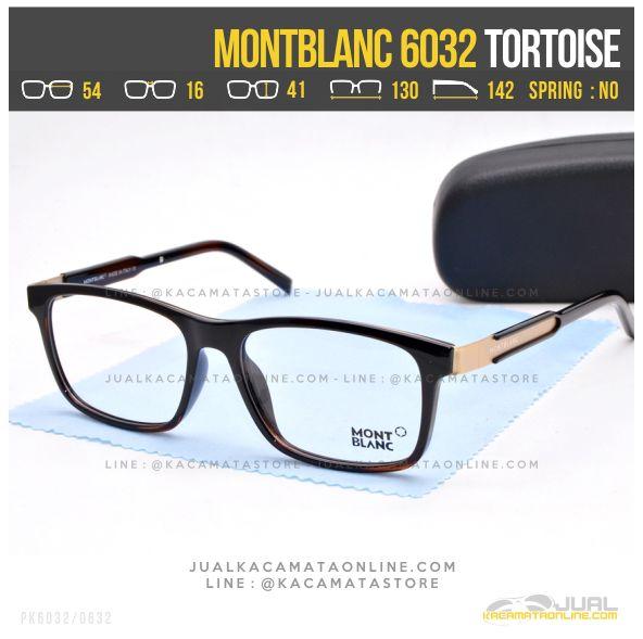 Grosir Frame Kacamata Optik MontBlanc 6032 Tortoise