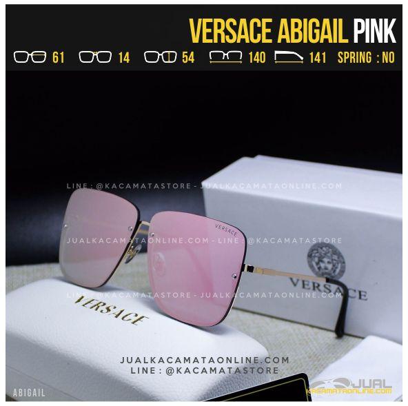 Gambar Kacamata Artis Terbaru Versace Abigail Pink