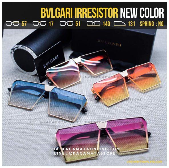 Gambar Kacamata Fashion Terbaru Bvlgari Irresistor Transparent