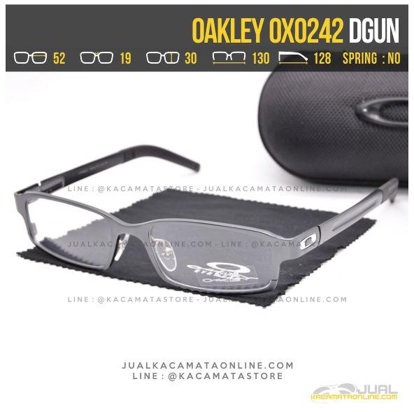 Model Kacamata Minus Terbaru Oakley OX0242 Alloy Dgun