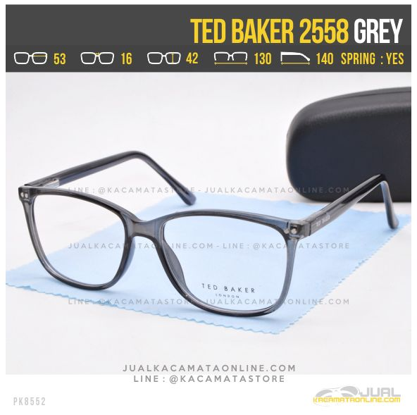 Jual Kacamata Minus Terbaru Ted Baker 2558 Grey