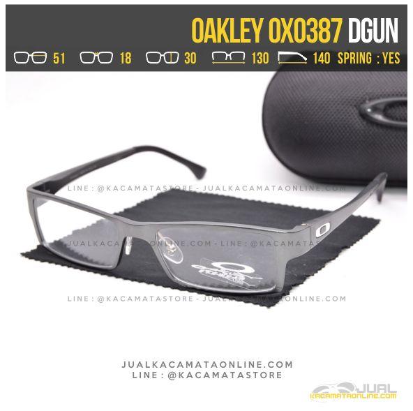 Jual Kacamata Optik Terbaru Oakley OX0387 Alloy Dgun
